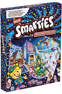 Smarties adventskalender